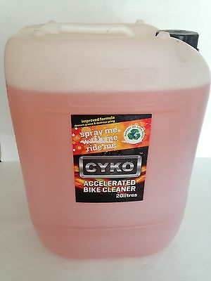 Cyko Motorcycle Bicycle Bike Cleaner 20 Ltr Refill