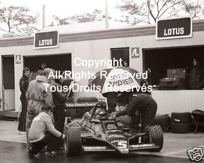 Lotus Mario Andretti F1 Formula One 1978 Photo #17