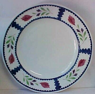 """Adams LANCASTER Dinner Plate Small (9-7/8"""") CHINESE ANGLED Uncommon"""