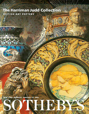 Sotheby's Harriman Judd Collection British Art Pottery Auction Catalog 2001