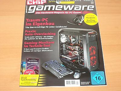CHIP gameware Das Hardware-Magazin für PC-Gamer + DVD USK ab 16 Nr. 1/2016 1A!