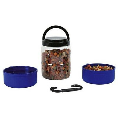 Trixie Travel / Walk Set-Dog / Puppy Food & Water Container 2491