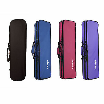 Delux Violin Case Muzip - FULL SIZE 4/4- High Quality! Available in 4 Colours