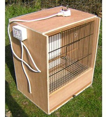 Wooden Hospital Cage For Birds