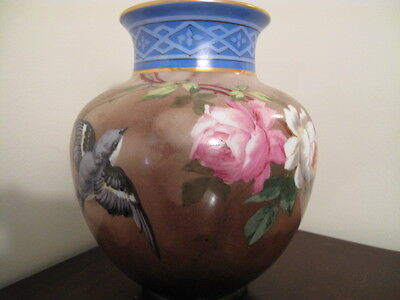 Beautiful Baccarat Glass Vase Victorian 1880
