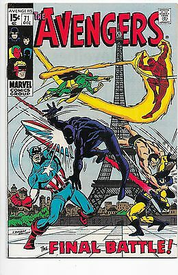 Avengers #71 Bronze Age Marvel Comics 1st Appearance of Invaders NM