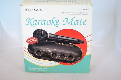 Optimus Karaoke Mate Minimizes Vocals on CD's Sing Along With Music