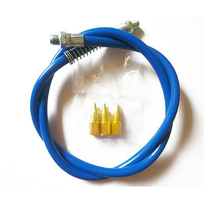 """39"""" Heavy Duty Grease Gun Hose High Pressure Long Extension Whip New"""