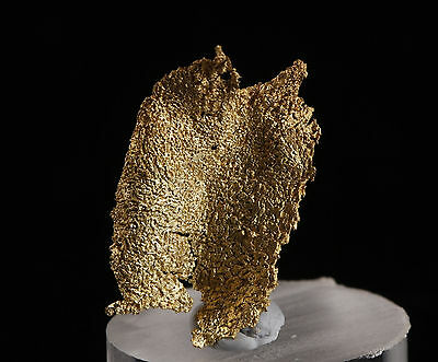 Crystallized gold from the Little Johnny mine, Colorado.  Nugget