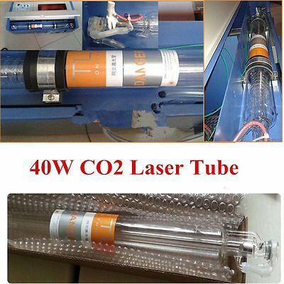 Water Cooling 40W Laser Tube For CO2 USB Laser Engraving Engraver Machine