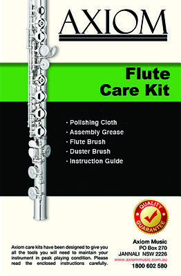 Axiom Flute Maintenance Kit - Cleaning Kit