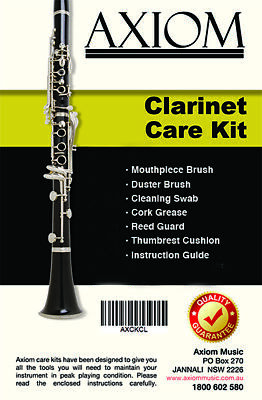 Axiom Clarinet Maintenance Kit - Cleaning Kit