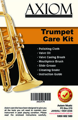 Axiom Trumpet Maintenance Kit - Cleaning Kit