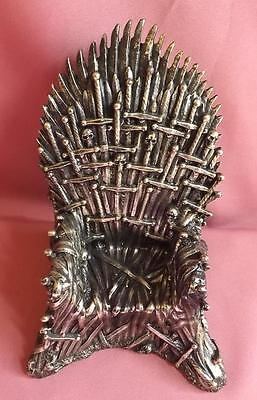 Game Of Thrones Chair/statue* Bronze Thousand Sword Chair* 22Cm * Polyresin*