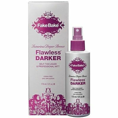 Fake Bake Luxurious Golden Bronze Flawless DARKER Self-Tan Liquid 170ml