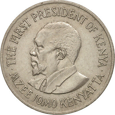 [#503166] Kenya, Shilling, 1975, VZ, Copper-nickel, KM:14