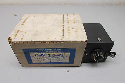 Edwards Plug In Relay 490-P1 For Use W/ 470 Annunciator & 480 Relay