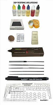 Gold Acid Testing Kit Digital Test  Silver 14k22k Ring Electronic Diamond Tester
