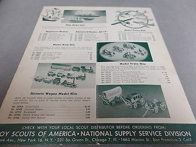 1953 January - Handicraft Materials -National Supply Service Div-Boy Scouts