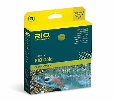 RIO Gold Trout Series Floating Fly Fishing Lines  All-Around Trout Floating Line