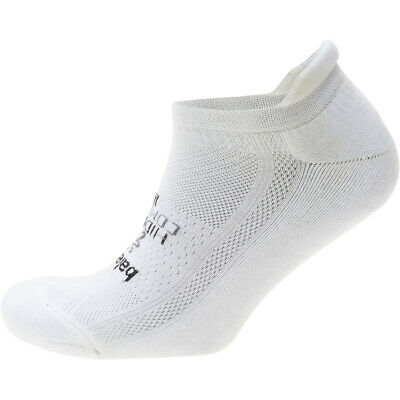 Balega Hidden Comfort Sole Cushioning Running Socks - White