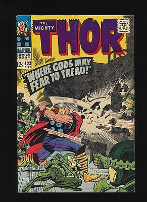 Mighty Thor #132! 1st Ego The Living Planet! Marvel 1966! SEE SCANS! KEY BOOK!