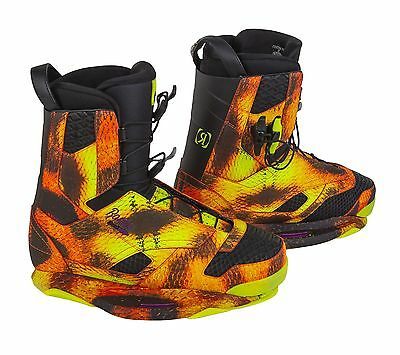 Ronix Frank 2015 Wakeboard Boots Bindings - UK Size 7-8 -RRP £399.00 Now £279.00