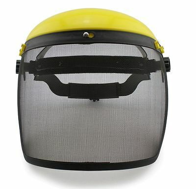 Wire mesh protector cover mask Gardening Grass Lawn cut Saw spatter stone proof