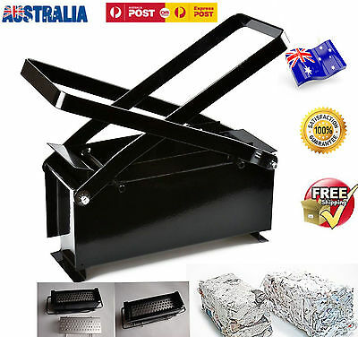 OZ Briquette Paper Log Recycle Newspaper Brick Block Maker Fireplaces Stoves/BBQ