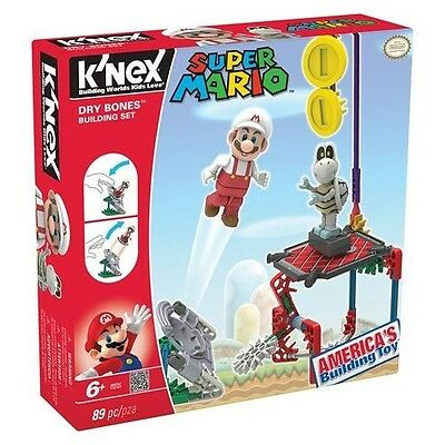 K'nex New Super Mario Bro. 2 Dry Bones Building Set Kn38420