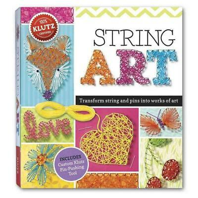 String Art by Eva Steele-Staccio Book & Merchandise Book (English)