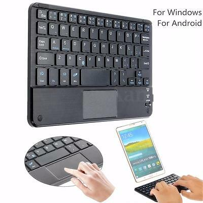 Mini Wireless Bluetooth3.0 Tastiere Keyboard Touchpad Per Android Windows Tablet