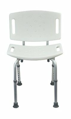 Aidapt Height Shower Chair with Adjustable Back