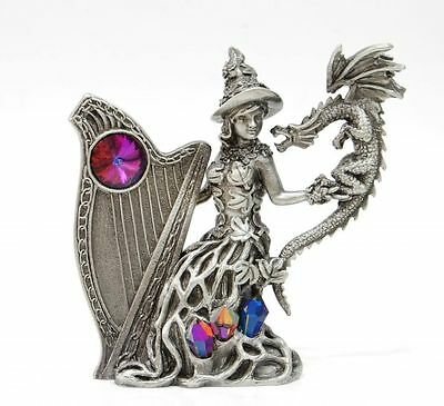 Tudor Mint Myth & Magic Collectors Pewter Figurine - Nature's Song # MM4092