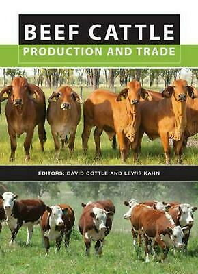 Beef Cattle Production and Trade by David Cottle (English) Hardcover Book Free S
