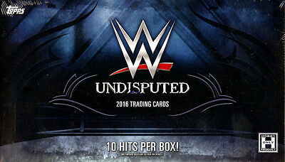 2016 Topps Wwe Undisputed Wrestling Hobby Box Factory Sealed New