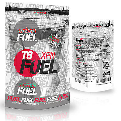 Urban Fuel T6 XPN Fat Burners Slimming Pills Diet & Weight Loss Fat Burner