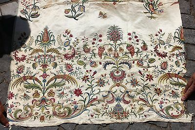 Antique Original Perfect China  Full Silk Handmade Amazing Textile