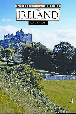 A Brief History of Ireland by Paul F. State (English) Paperback Book Free Shippi