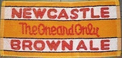 Newcastle Brown Ale Cotton Bar Towel  525mm x 250mm  (pp)