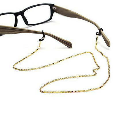 Glasses Holder Sunglasses Metal Strap Reading Color  Neck Spectacles Chain Cord