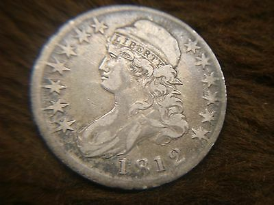 1812 Capped Bust Half -2 Leaf Var. - Early Date Silver -  Have A Look>>>