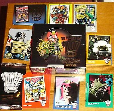 30 Years of 2000AD + Judge Dredd Unopened Box of Trading Cards by Strictly Ink