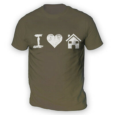 I Love House Music Mens T-Shirt -x13 Colours- Dance Club DJ Rave Festival Beat