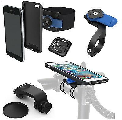 Quad Lock Lenker Halterungen Fahrrad  iPhone 5 5se 6 6s 6plus Bike kit auto run