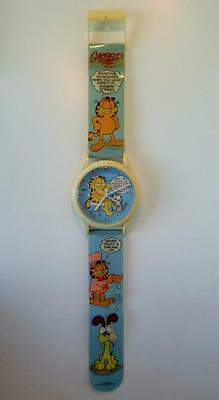 Rare Vintage Garfield The Cat Jumbo Giant Watch Working Wall Clock 1970s