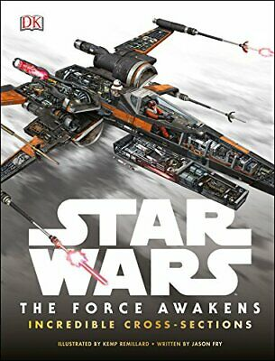 Star Wars The Force Awakens Incredible Cross-Sections by DK Book The Cheap Fast