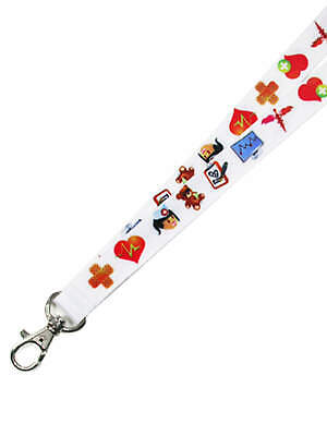 PinMart's Nurse Lanyard w/ a Safety Break Away Attachment