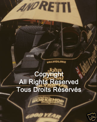 Lotus Mario Andretti F1 Formula One 1978 Photo #27