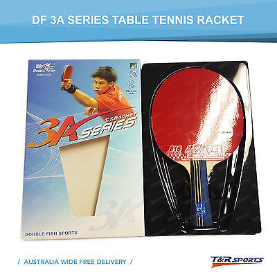 Double Fish 3A-C Table Tennis Racket Bat Long Handle Offensive Free Postage